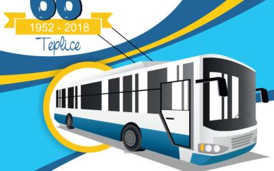 Podpořte Evropský týden mobility na oslavě 66. let trolejbusů v Teplicích